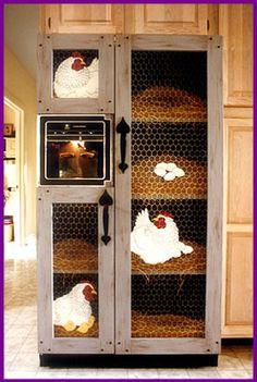 Fridge makeover: Does a refrigerator have to LOOK like a refrigerator? Refrigerator Makeover, Paint Refrigerator, Painted Fridge, Refrigerator Wraps, Painted Appliances, Refrigerator Covers, Refrigerator Organization, Vintage Appliances, Chicken Coop Decor
