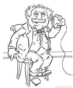 Free, printable Benjamin Franklin coloring page for kid
