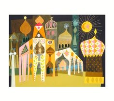 Would love to have a print of this in his room!  It's a Small World: Multicultural Wall Art for Your Baby's Nursery | Disney Baby