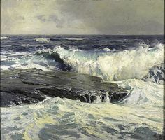 Frederick Waugh -.....another stunner by Waugh.