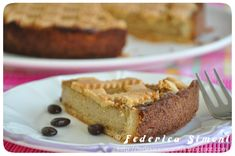 La cucina di Federica: Crostata con crema pasticcera al caffè e ricotta