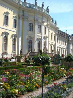 Ludwigsburg - it's been called the Versailles of Germany.  (I lived just down the road in Osswiel)