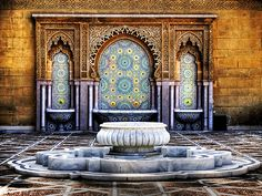 * Moroccan Fountain   Flickr - Photo Sharing! from http://www.flickr.com/photos/atrium09/1795602220/ (via We Heart it)