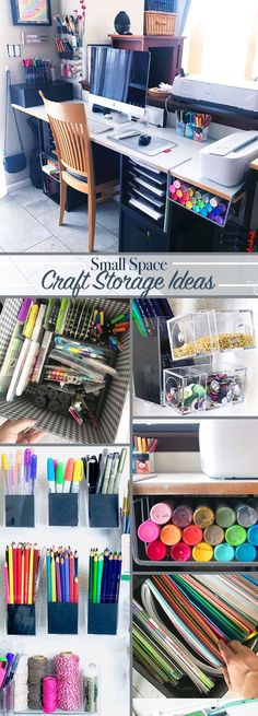 Small space craft room storage ideas