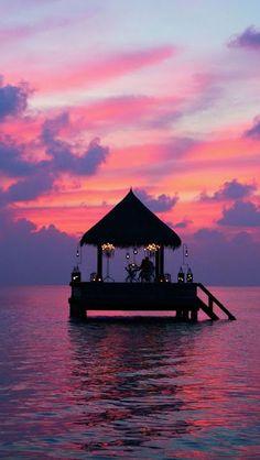 Amazing Snaps: Taj Exotica Resort, Spa, Sunset, Maldives   See more