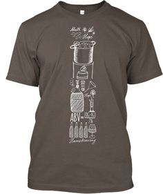 Awesome Homebrewing Shirt. Now I really want to brew some beer! #beer #craftbeer #homebrew