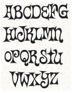 Stencil Lettering, Hand Lettering Alphabet, Alphabet Stencils, Graffiti Lettering, Alphabet Fonts, Lettering Tutorial, Letter Fonts, Alphabet Wall, Letter Tracing