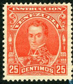 Stamps - Venezuela - Simon Bolivar 1904