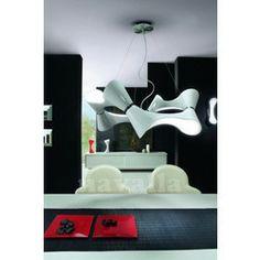 Applique ORA 1 L small lampe design mantra Ceiling Pendant, Pendant Lighting, Ceiling Lights, Light Pendant, Mantra, Blue Roof, Shops, Living Room White, Luminaire Design