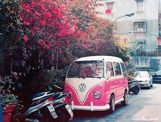 pink bus ... love it!
