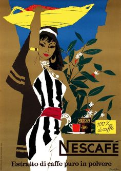Nescafe - Donald Brun (1954)