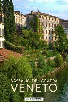 Map of Bassano del Grappa in the Veneto region with hotels and attraction information for Bassano del Grappa, Italy. Regions Of Italy, All Is Well, Covered Bridges, Study Abroad, Verona, Italy Travel, Where To Go, Serenity, Travel Guide
