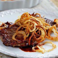 Die 11 besten Rostbraten Rezepte potato al horno asadas fritas recetas diet diet plan diet recipes recipes Roast Meat Recipe, Roast Recipes, Ground Beef Recipes, Crockpot Recipes, Dinner Recipes, Roasted Onions, Roasted Meat, Healthy Meat Recipes, Healthy Drinks