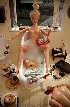 La venganza de Barbie #doll #horror