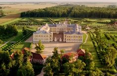 The Rundāle Palace ensamble, one of the most outstanding monuments of Baroque and Rococo architecture in Latvia, was built between 1736 and 1740 as a summer residence for Ernst Johann Biron, Duke of Courland