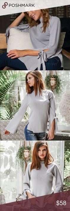 WOMENS DRESS Scarf Chiffon high neck mock turtle Babydoll ruffle S M L