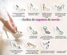 Zafiro Novias, zapatos de novia según la estación y locación de la boda. Calzado de novia.