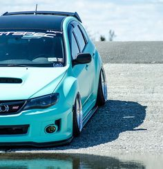 What girl wouldn't love this Tiffany blue Subaru WRX STI?  #car #cars #cargram #carporn #everythingspeed #everything #speed #subaru #subaruwrx #sti #subie #subieflow #instacar #instagood #instalike #exotic #exoticcars #luxury #luxurycars #supercar #supersport #superstreet #super #stance #stancenation #black #blacklist #amazingcars247 #amazing #carswithoutlimits