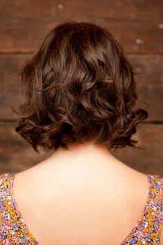 back of bob hair cut #diyHair
