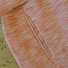Nice tutorial on a cool pocket: Handmade by Carolyn: Inseam arrow welt pockets