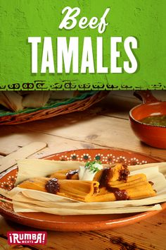It's tamale season! Pair Rumba Meats beef outside skirt with a red sauce, guajillo chile and chile de arbol for a comforting, flavor-packed favorite. Recipe For Beef Tamales, Tamale Recipe, Homemade Tamales, Mexican Food Dishes, Mexican Cooking, Mexican Food Recipes, Hispanic Dishes, Relleno, Pasta