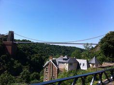 Glorious day, Clifton suspension bridge