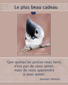 Le plus beau cadeau  Trouvez encore plus de citations et de dictons sur: http://www.atmosphere-citation.com/amour/le-plus-beau-cadeau-2.html?