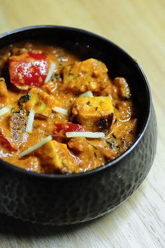 Paneer Tikka Masala-Restaurant Style Paneer Recipe by Nags The Cook, via Flickr