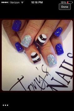 Cute New Year Eve Nails