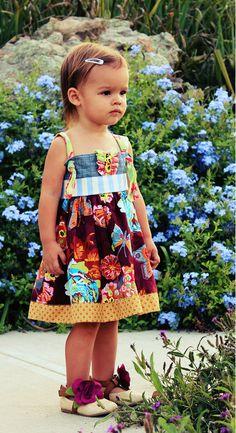 Baby Toddler Girls Knot Dress  CheekyPlum by CheekyPlum on Etsy, $34.00