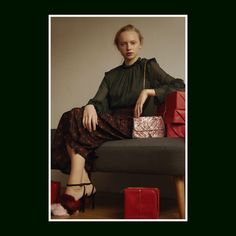 STYLE EDIT – Deck The Halls:  A chic and cosy winter season awaits you with CHARLES & KEITH's exclusive furry collection.  Products featured: Furry open-toe sandals and tassel detail shoulder bag