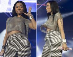 Nicki Minaj has never been one to cover up her famous curves. Check out her most shocking looks ...