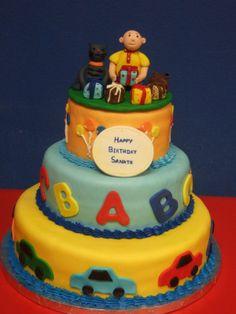 caillou cake - Căutare Google