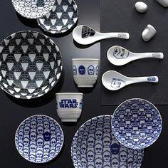 Star Wars Japanese Ceramic Tableware Set