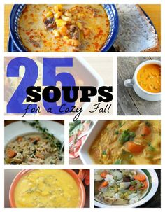 25 Soup Recipes for