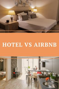 It's often the first question asked when deciding to go on holiday. Do I want a hotel? Or stay in an Airbnb? Read ahead to figure out what's best for you!
