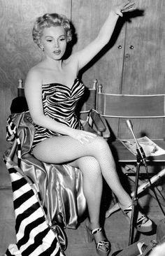 Zsa Zsa Gabor, look how zebra has come back around...