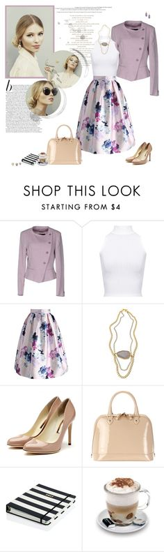 """""""Today's Look"""" by minni ❤ liked on Polyvore featuring MaxMara, WearAll, Chicwish, Janna Conner Designs, Rupert Sanderson, Aspinal of London, Ulyana Sergeenko, Kate Spade, Aroma and Dara Ettinger"""