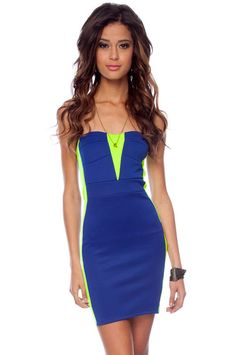 Neon Fit-ness Dress