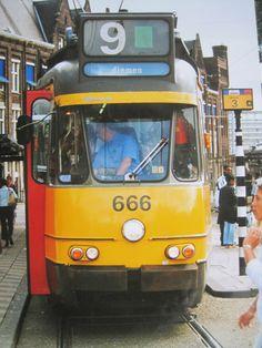 Number 666 at CS  Amsterdam
