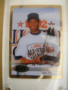 Rare Real Gold card of Griffey.