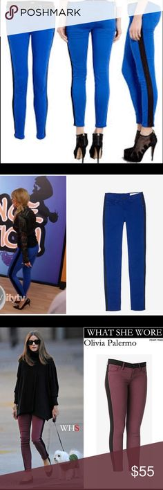 """Celebrity Favorite! Hudson Leeloo Skinny Jeans 28 Celebrity Favorite! Hudson Leeloo Skinny Jeans Blue/Black // LIKE NEW // Size:28 // Waist: 15.5"""" Inseam: 26"""" // I ship same-day from pet/smoke-free home and I offer 15% additional discount for 2 or more item bundles. Thanks superstarss!!  Hudson Jeans Jeans Skinny"""