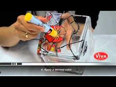 How to use Glass Effect Gel for Viva Decor