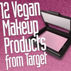Vegan makeup is everywhere now, including at big box stores like Target! #vegancosmetics #crueltyfreecosmetics