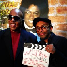My Main Man, St. Stevie Wonder. I Interviewed Stevie For My Documentary On Michael Jackson's OFF THE WALL Album. HISTORIC. YA-DIG? SHO-NUFF