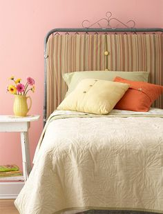 Ten Creative Headboard Ideas for Frugal Decorators!