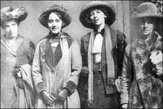 """""""Although giving women the vote became a topical theme of the 1800s it wasn't until 1893 that New Zealand became the first country in the world to award it. In 1902 Australia followed. It wasn't until 1918 that Britain followed suit, and even then the vote was given only to certain groups of women, such as householders.Suffragists believed believed in direct action and would do almost anything to get their way."""""""