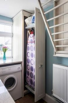 Awesome 99 Awesome Laundry Room Storage Organization Ideas. More at http://99homy.com/2018/02/07/99-awesome-laundry-room-storage-organization-ideas/