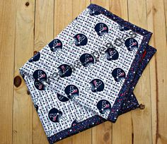 HOUSTON TEXANS BLANKET by eversonpeaces on Etsy, $68.00