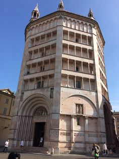 Battistero di Parma in piazza Duomo